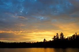 Dramatic Fall Sunset