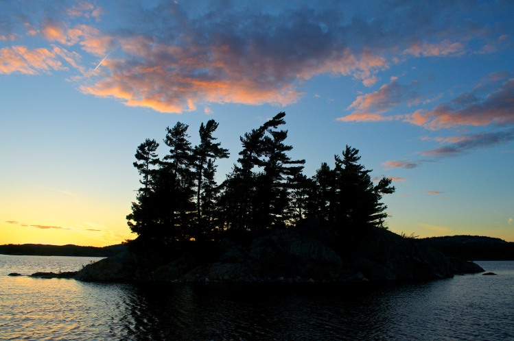 Island in the last light
