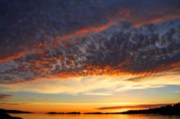 Sunset Voyaguers National Park