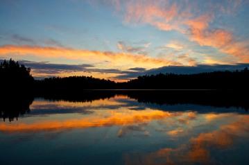 Sunset in Northern Minnesota