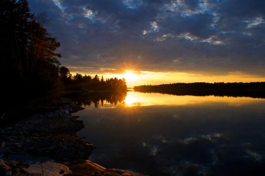 Northern Sunset