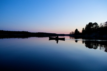Canoeing in the Silence