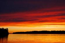 The Deep Red Sun